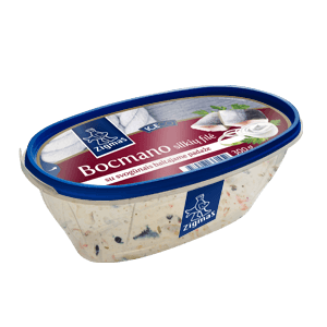 BOCMANO herring fillet with onions in white sauce
